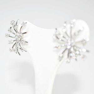 orecchini oro bianco con diamanti 2